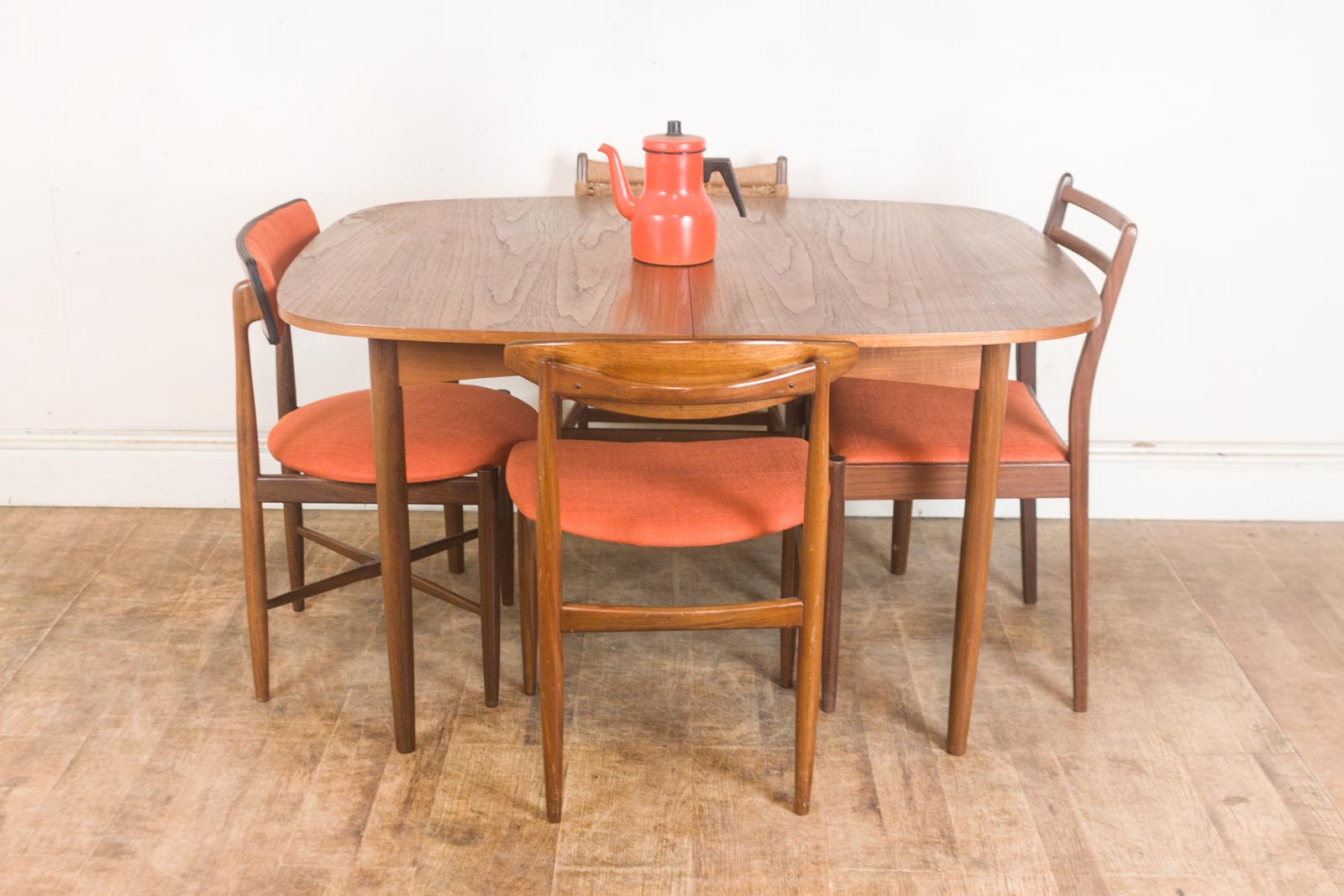 Vintage Retro G Plan Teak Oval Dining Table and 4 Mixed G  : hV040613 1 from www.ebay.co.uk size 1600 x 1067 jpeg 187kB