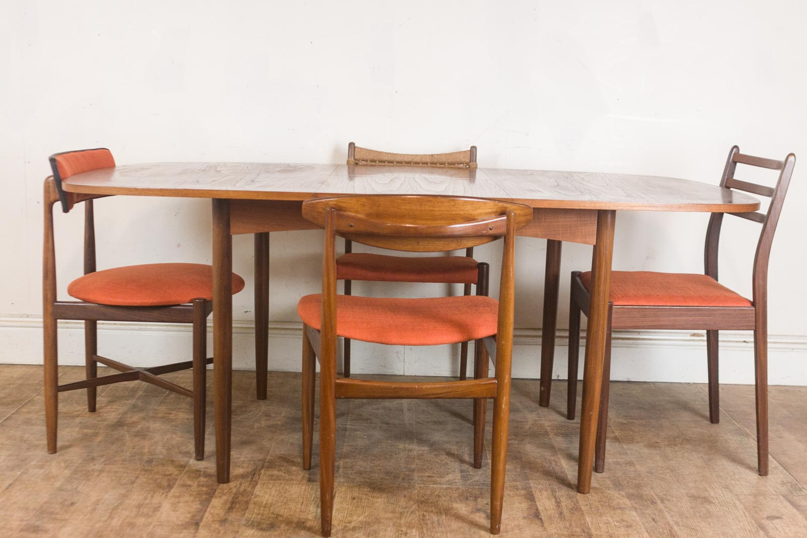 Vintage Retro G Plan Teak Oval Dining Table and 4 Mixed G  : hV040613 7 from www.ebay.co.uk size 1600 x 1067 jpeg 188kB