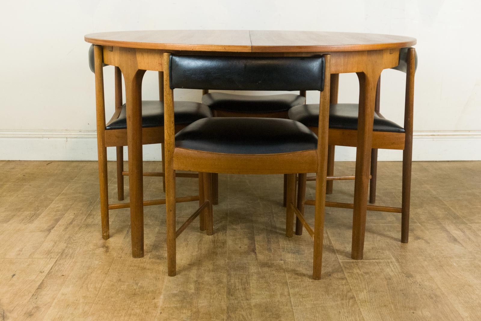 Vintage Retro Teak Extending Dining Table And 4 Chairs By McIntosh EBay