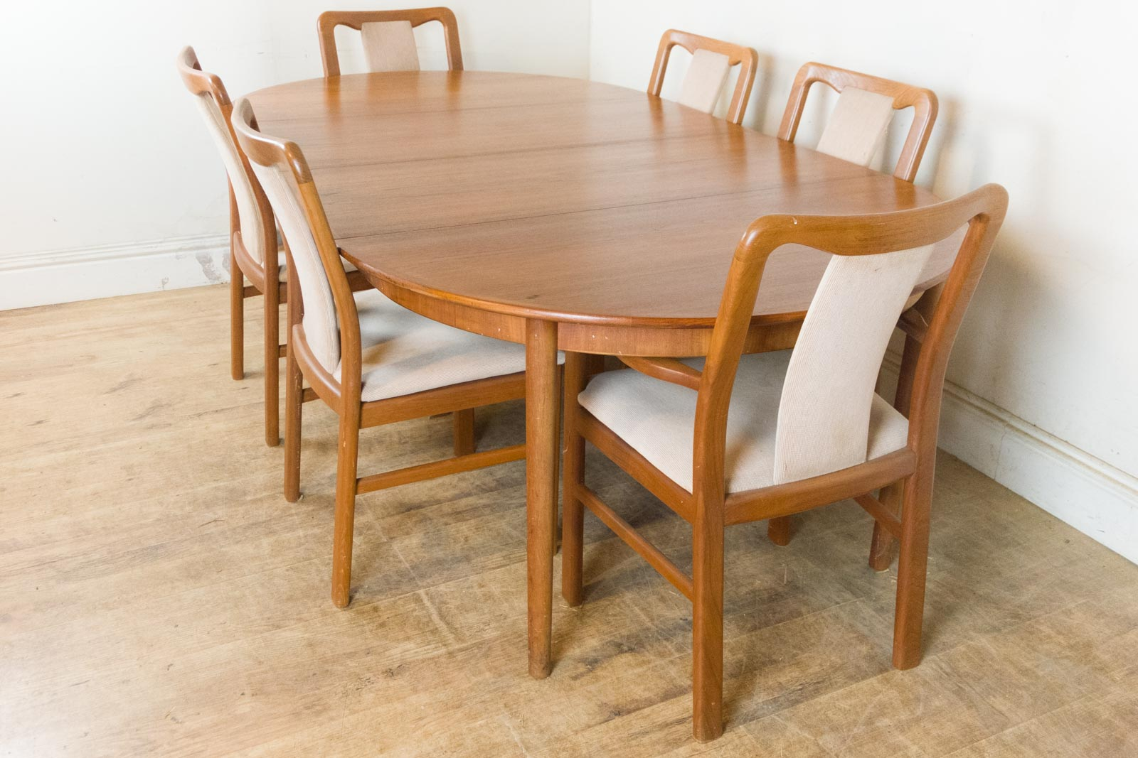 Vintage Retro Danish Extending Dining Table And 6 Chairs  : HV170602 6 from www.50han.com size 1600 x 1067 jpeg 222kB