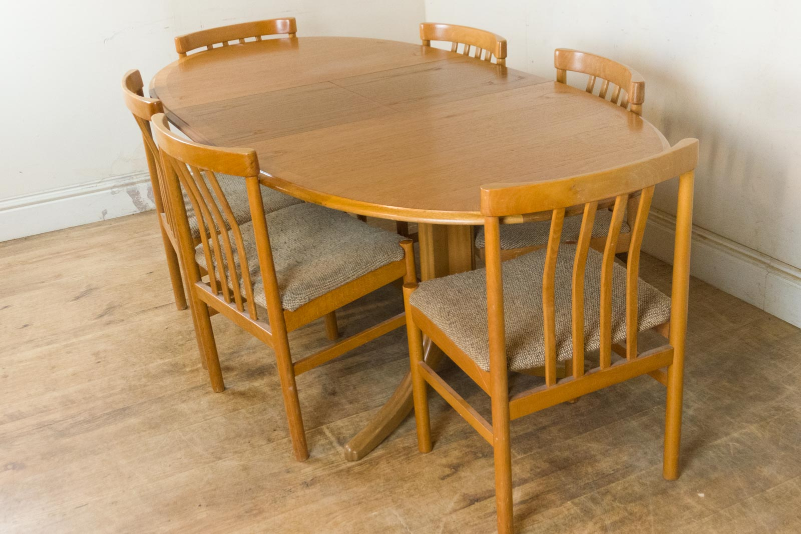 Vintage Retro Nathan Teak Extending Table and 6 Danish  : HV200802 10 from www.ebay.co.uk size 1600 x 1067 jpeg 235kB