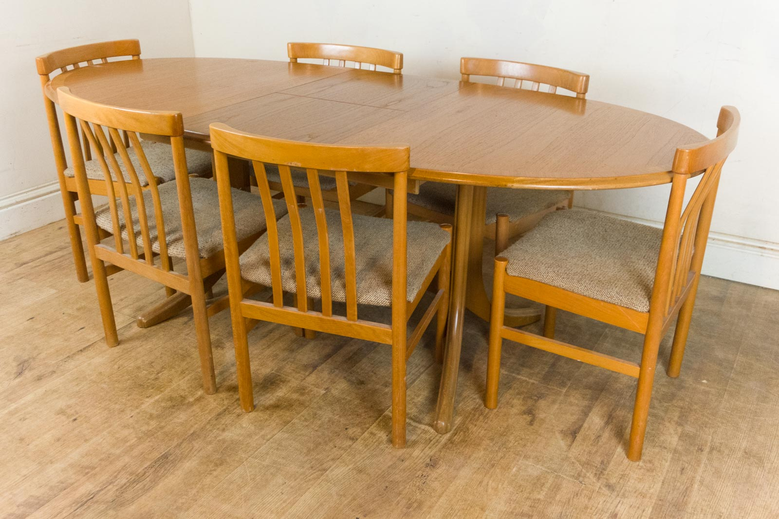 Vintage Retro Nathan Teak Extending Table and 6 Danish  : HV200802 9 from www.ebay.co.uk size 1600 x 1067 jpeg 271kB