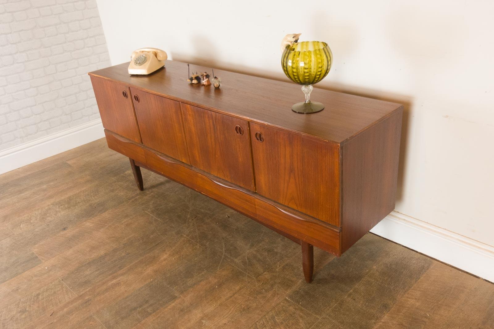 Vintage Retro Teak Mid Century Sideboard by Portwood eBay